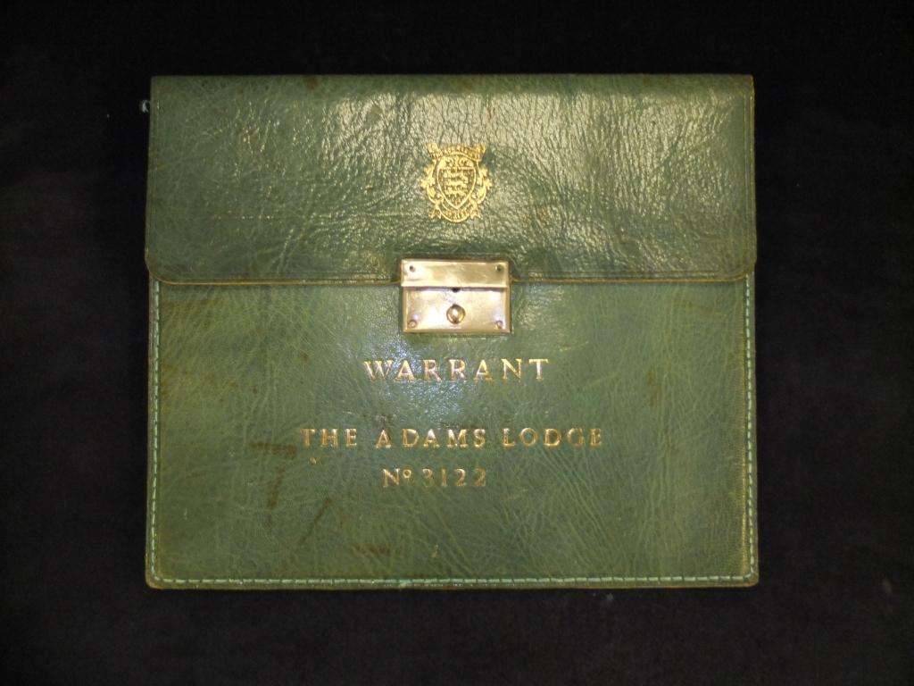 Warrant folder